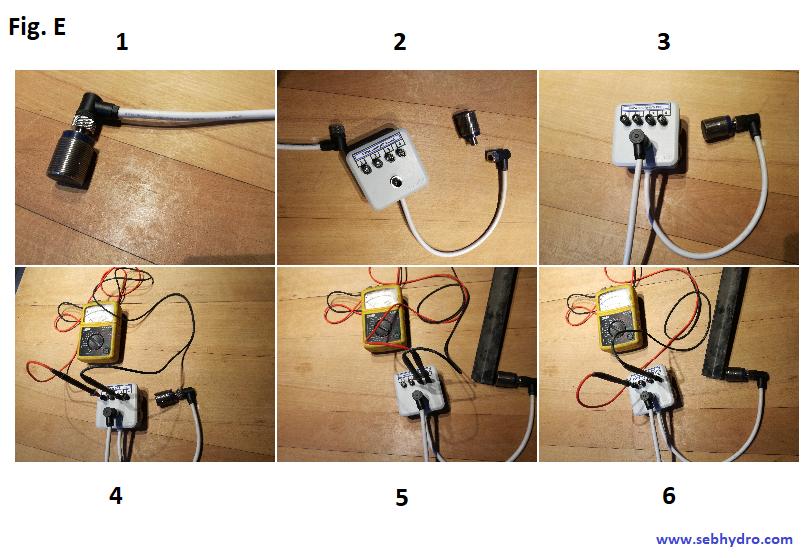boitier test capteur 3 fils