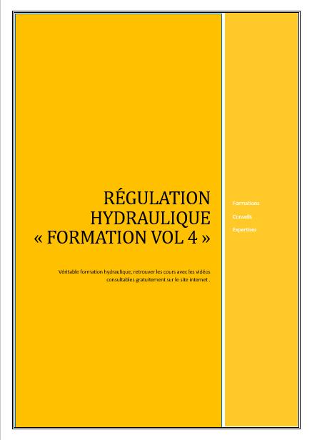 Couverture regulation hydraulique vol 4