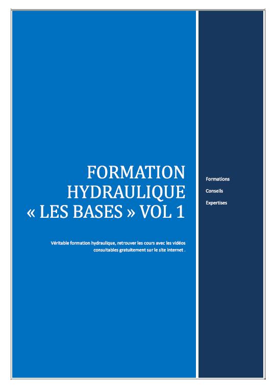 Formation hydraulique