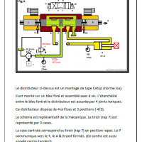 Formation hydraulique les bases vol 1 distributeur