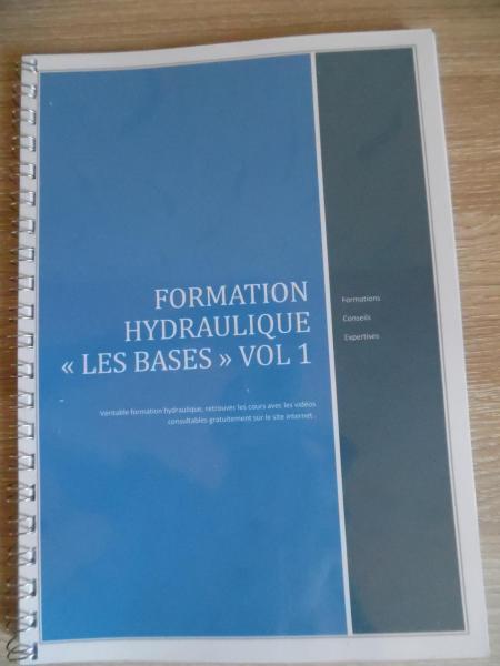 Formation hydraulique livre videos