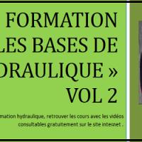 Formation : les bases de l hydraulique vol 2 Ebook